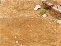 Yellow Travertine Floor Tiles from Turkey, Yellow ...