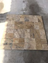 Antique Philadelphia Travertine Tile Tumbled from Turkey ...