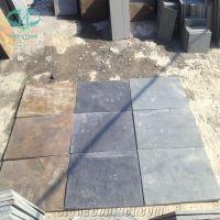 Rust Slate Tile, Copper Slate Floor, Black Slate Covering ...