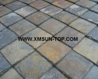 Chinese Rusty Roof Slate Tile with Square Type/ Slate ...
