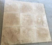Cappuccino Travertine Tiles Honed Filled Cross Cut from ...