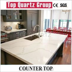 Quartz Kitchen Countertops Commercial Faucets Best Selling Calacatta Countertop Artificial White