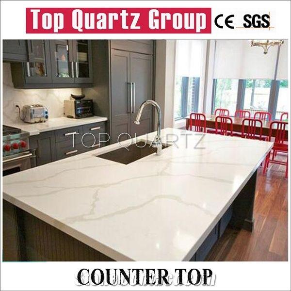 best kitchen countertop small round table selling calacatta quartz artificial white countertops