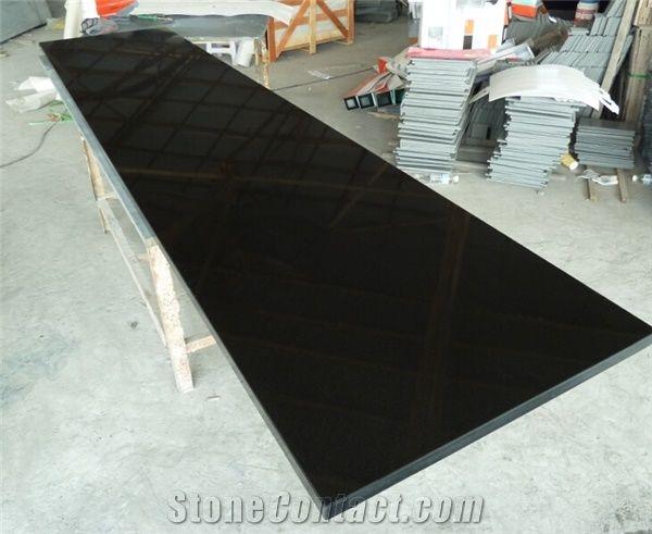 china mongolia black granite tile slab