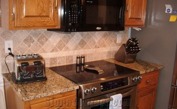 big kitchen islands mobile home cabinets discount butterfly beige granite custom countertops, ...