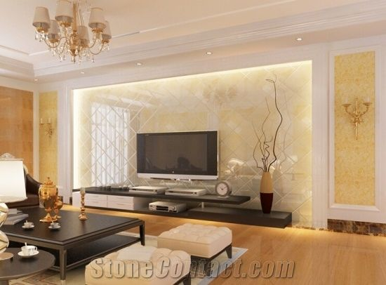 Blonde Onyx Beige Onyx Polished Tiles For Wall Covering