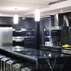 Kitchen Tabletops Collapsible Table Nero Marquina Marble Countertops Black Counter Tops