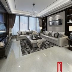 Ceramic Tile Living Room Wall Traditional Sofa Set For The Foshan White Cream