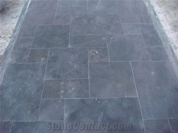 patio paving tiles shandong blue stone