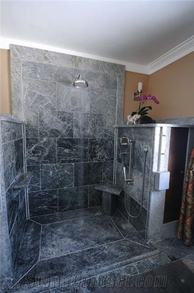 Soapstone Shower from Canada  StoneContactcom