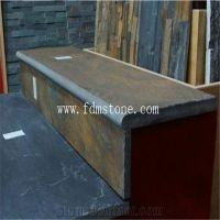 Jiujiang Rusty Slate Tile Building Materials Stone Treads ...