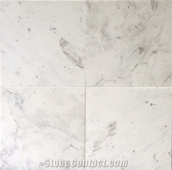 Ariston White Marble Tile from United States - StoneContact.com