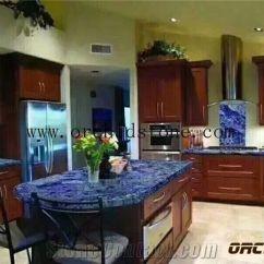 Kitchen Tabletops Backsplash Trends Blue Sodalite Granite For Countertops Dinning Table Tops Stone Interior Decoration Royal Azul Bartop