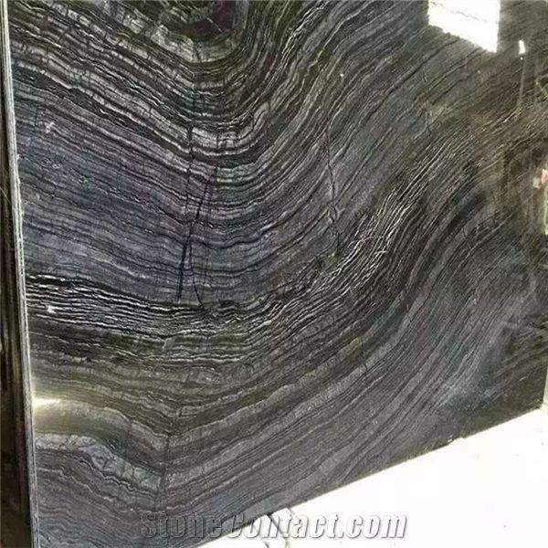 low price chinese negro seta marble
