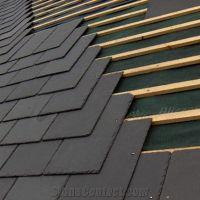 Black Slate Roof Tiles, Slate Roofing Tiles, Roof Covering ...