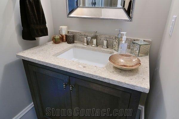 Quartz Stone Vanity Tops Engineered