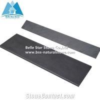 Black Split Face Slate Steps,Charcoal Grey Slate Stair ...