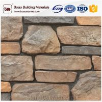Artificial Faux Imitation Field Ledge Stone Veneer Cement
