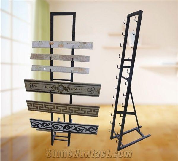metal display racks marble stand racks