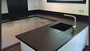 Nero Zimbabwe Granite Custom Countertops From France