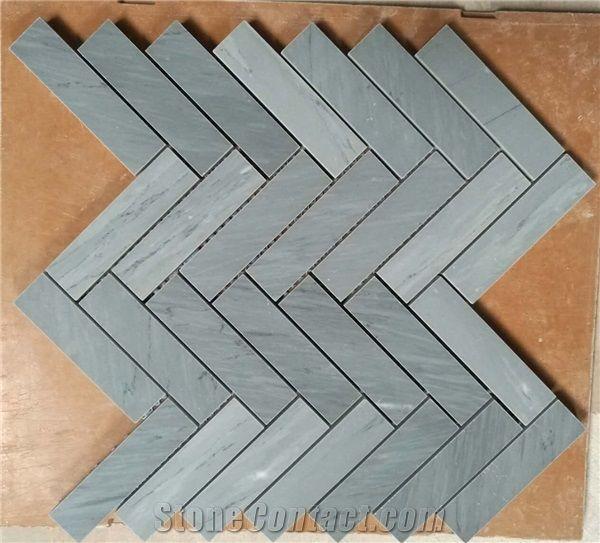 bardiglio marble mosaic bardiglio