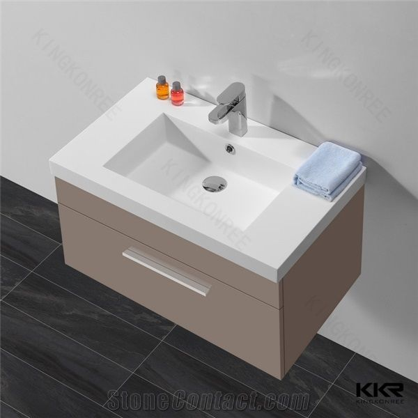 acrylic solid surface bathroom sinks