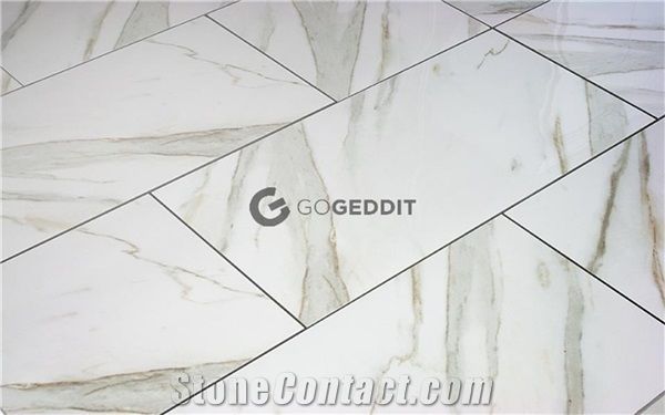 calacatta gold 12x24 polished marble
