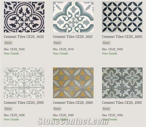 cement tiles terrazzo tiles from