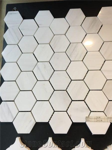 marble mosaic tile backsplash marble