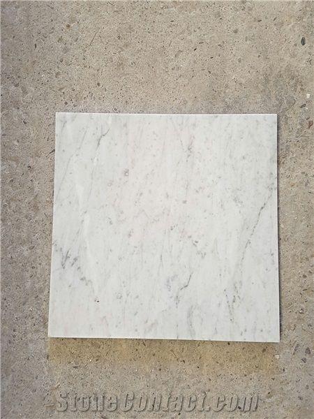 bianco carrara commercial marble tiles