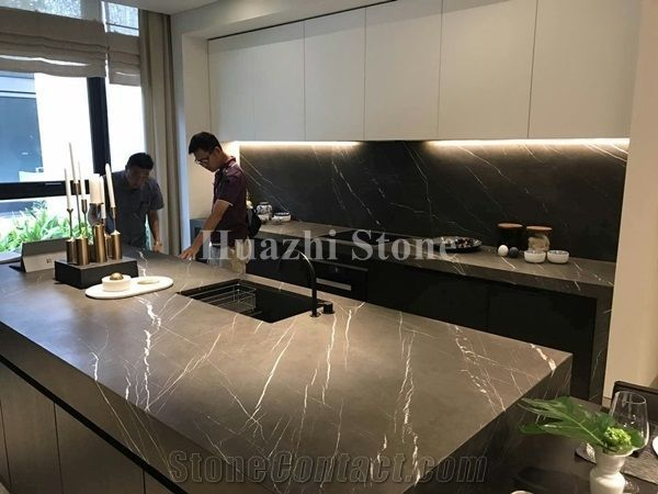 kitchen stone cabinet knob natural pietra grey marble countertops from china