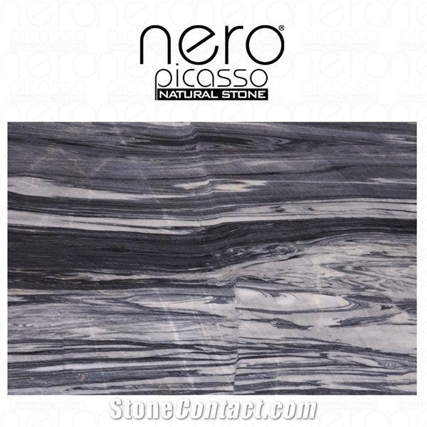 cloudy atlas night marble slabs tiles