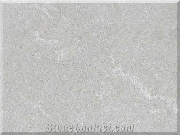 Vicostone Bq8446 Grey Savoie Quartz Countertop from Viet