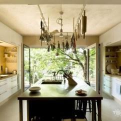 Backyard Kitchens Gooseneck Kitchen Faucet 如果把你家改造成这样 你会开心呢还是非常开心?-土巴兔装修大学