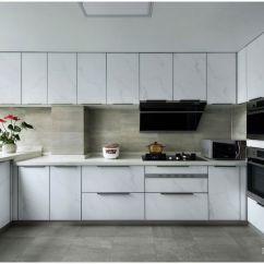 Decorating Kitchen Wall Clocks 精心装饰厨房必须知道的三大技巧 土巴兔装修大学 一 厨房整体布局规划设计