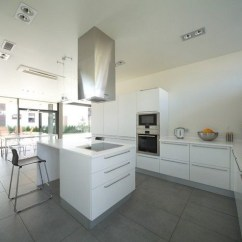 White Kitchen Island Cart How Much Does A New Cost 现代风格橱柜图片