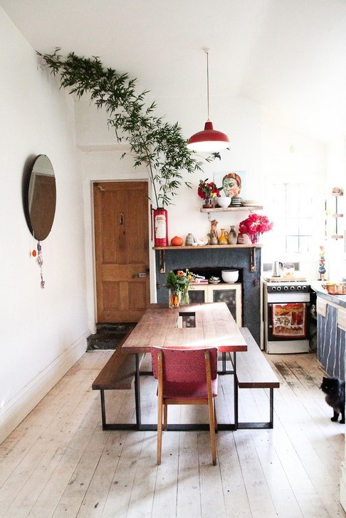 curtains kitchen how to build an outdoor counter 40平米小户型装修效果图 简约餐厅装修_土巴兔装修效果图