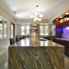 Kitchen Counter Tops How Much Is A Remodel 开放式厨房吧台尺寸及效果图-土巴兔南宁装修设计(城市文章)