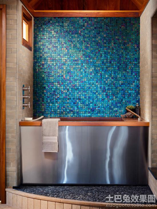 grey kitchen mat cabinets showroom 浴室防滑地砖图片_土巴兔装修效果图