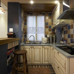 Grey Kitchen Tile Best Shoes For Working In A 小套厨房装修效果图_土巴兔装修效果图