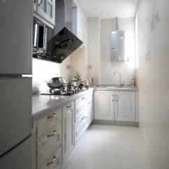 Curtains Kitchen Sink Protectors 简欧长厨房装修效果图大全_土巴兔装修效果图