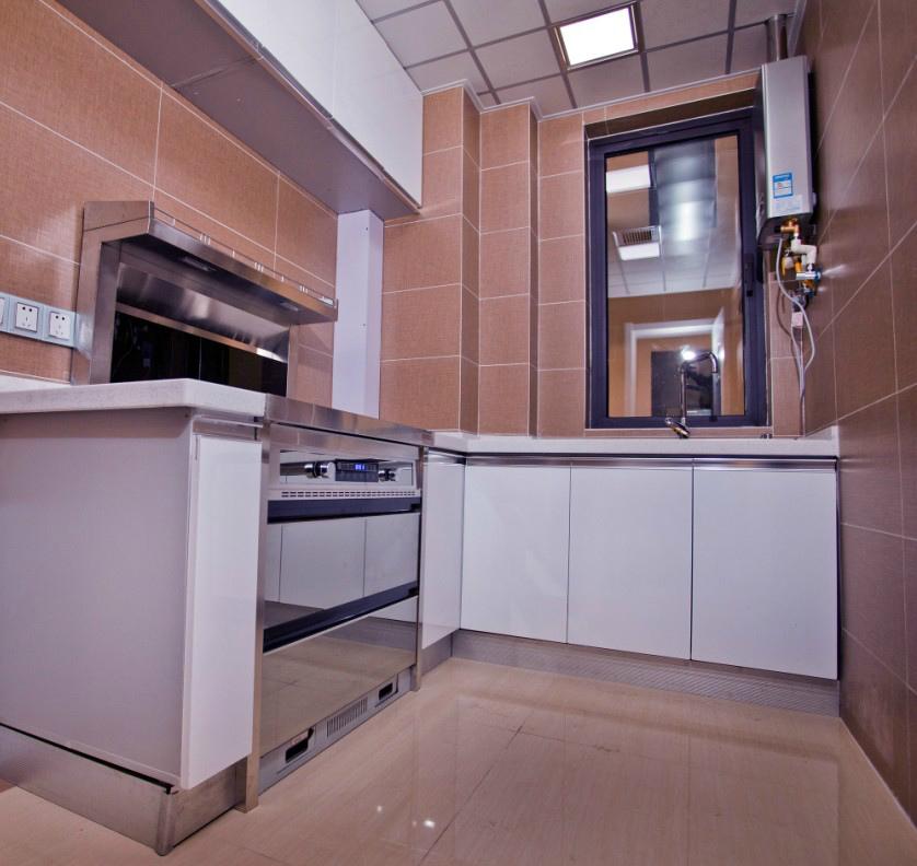 small kitchen bar apron front sinks 2平米小厨房装修效果图_土巴兔装修效果图