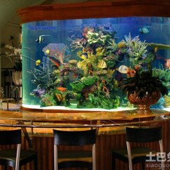 Kitchen Crock Best Place To Buy A Sink 餐厅鱼缸设计_土巴兔装修效果图