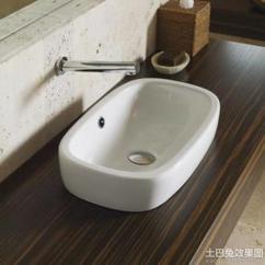 Kitchen Faucet Black Glass Top Table 洗面盆装修图片_土巴兔装修效果图