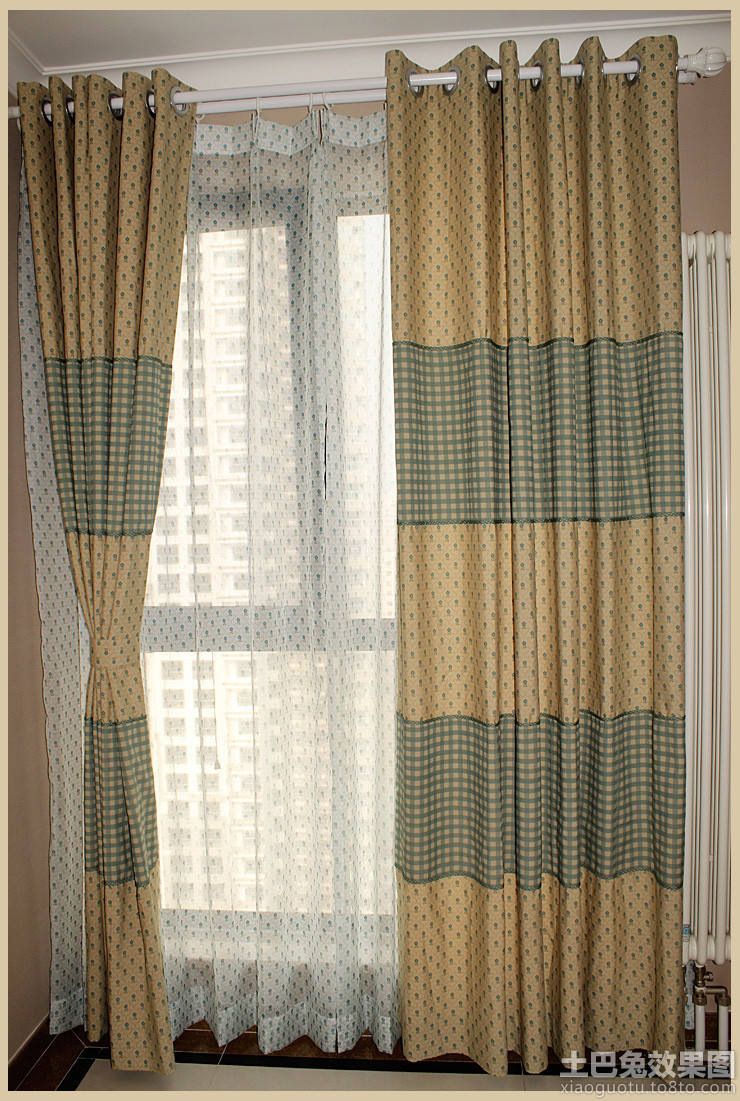 curtains for the kitchen country door knobs 北欧风格窗帘_土巴兔装修效果图