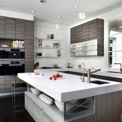 Kitchen Black Cabinets Cheap Towels 岛式厨房_土巴兔装修效果图