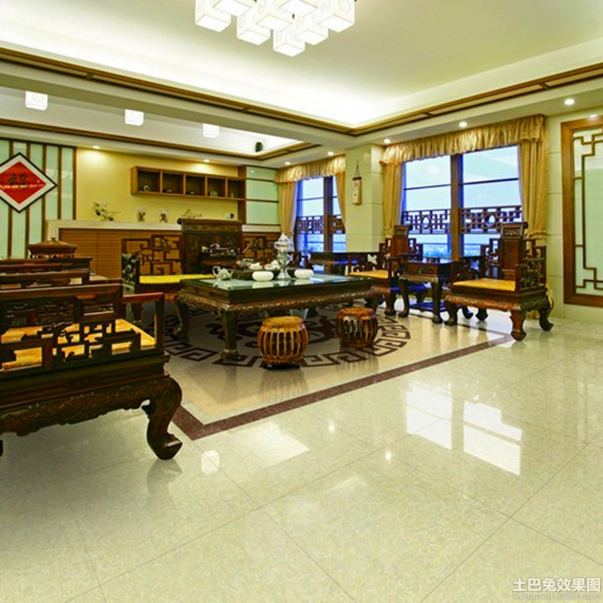 granite kitchens kitchen island dimensions 客厅地面砖_土巴兔装修效果图