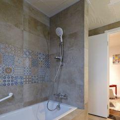 Gray Kitchen Sink Retro Appliance 浴室水龙头花洒图片_土巴兔装修效果图