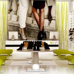 Kitchen Cafe Curtains Cabinets Wichita Ks 创意时尚擦鞋店 _土巴兔装修效果图