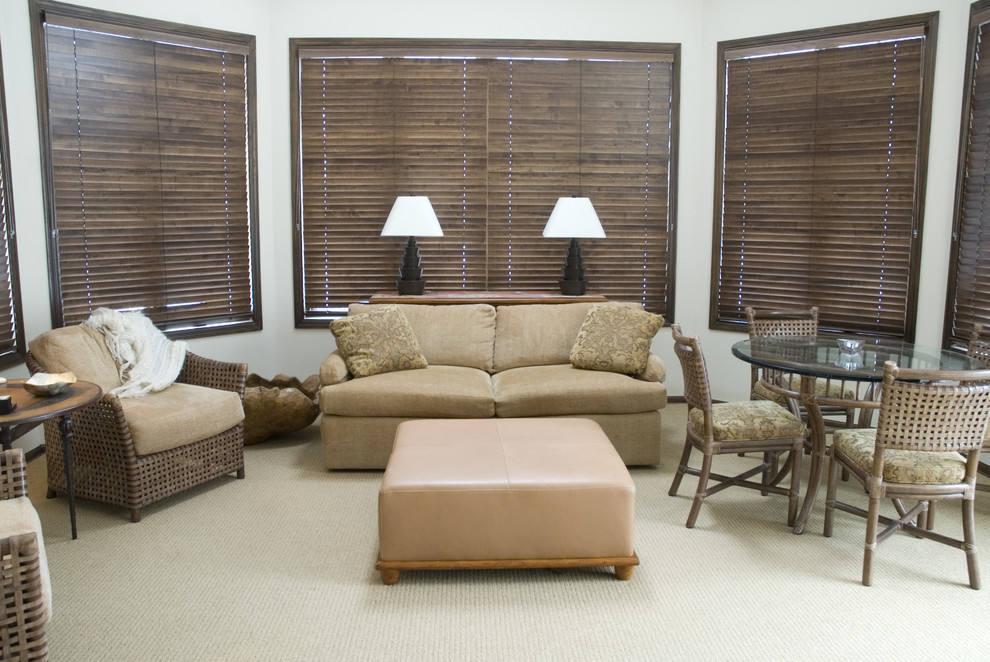 grey kitchen blinds runner mat 实木百叶窗帘图片欣赏设计_土巴兔装修效果图
